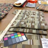 """7.05 Yard Piece of Contemporary Geometric Browns / Taupes 