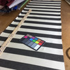 Black and Off-White Stripes | Indoor / Outdoor Fabric | Upholstery / Drapery | 54 Wide | By the Yard