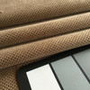 """Tan Dimpled Texture Microfiber   Durable Upholstery Fabric   54"""" Wide   By the Yard"""