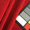 """Bright Red Soft Velvet   Heavy Velvet Upholstery Fabric   54"""" Wide   By the Yard"""