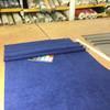 "Deep Ocean Blue Velvet | Upholstery Fabric | 54"" Wide | By the Yard"