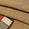 """Two Toned Beige Slub Weave 