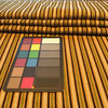 """Textured Stripes Brown / Green / Gold 