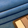 """Azure Blue Microfiber Velvet 
