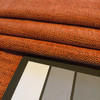 """Bright Orange Chenille with Bit of Black Undertone 