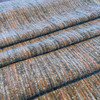 """Chenille Slub in Gray and Orange 