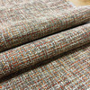 Red/Tan/Brown Variegated Textured Upholstery Fabric   Furniture   Cushions   Home Dec   By The Yard   54 inch Wide