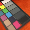 "Vibrant Orange Velvet | Subtle Stripe Weave | Upholstery Fabric  | 54"" Wide | By the Yard | Durable"