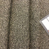 """Boucle Textured Weave in Black and Taupe 