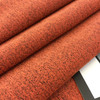 """Mottled Orange with Brown Microfiber 