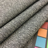 """Mottled Tan and Black Pebbled Weave   Heavyweight Upholstery / Slipcover Fabric   54"""" Wide   By the Yard"""