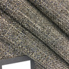 """Variegated Gray / Blue / White   Upholstery / Heavy Drapery Fabric   Felt-Backed   54"""" Wide   By the Yard"""