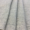 """Mottled Grey and White   Chenille Upholstery Fabric   54"""" Wide   Heavy Weight   By the Yard"""