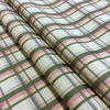 """Traditional Plaid Yellow / Pink / Brown 