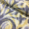 """Boho Chic Ikat Damask in Yellow and Gray 