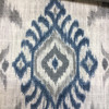 """Shabby Damask in Blue / Gray / White  