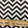 """Black and White Chevron 