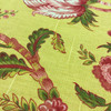 """Garden Floral in Pink / Green / Yellow   Richloom   Medium Weight Home Decor Fabric   Curtains / Slipcovers   54"""" Wide   By the Yard"""
