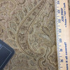 """Strauss in Barley   Jacquard Upholstery Fabric   Damask in Beige / Brown   54"""" Wide   By the Yard"""