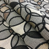 """Contemporary Circles in Black / Gray / Beige 