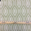 """Carino in Sweet Pea   Jacquard Upholstery Fabric   Leafy Vine Ogee in Green / Off-White   Heavyweight   54"""" Wide   By the Yard"""