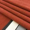 "Jukebox in Tangerine   Heavyweight Microfiber Upholstery Fabric   Solid Spice Reddish Orange   54"" Wide   By the Yard"