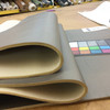 """Taupe Bronze Faux Leather Vinyl Headliner - Foam-Backed 