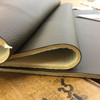 """Chocolate Brown Faux Leather Vinyl Headliner - Foam-Backed 