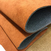 "Rust Orange Faux Suede Automotive Headliner - Foam-Backed  | 1/8"" Thick | 60"" Wide | Bag Stabilizer / Sew Foam | By the Yard"