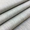 """Pebbled Weave   Light Grey / Off-White   Heavyweight Upholstery / Slipcover Fabric   54"""" Wide   By the Yard"""