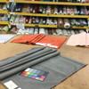 "Micro Chevron in Dark Grey | Microfiber | Medium Weight Upholstery Fabric  | 54"" Wide | By the Yard | Durable"