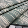 """Abstract Line Design in Spa Blue and Beige 