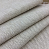 """Micro Checkered Weave in Off-White Cream Chenille   Heavy Weight Upholstery Fabric    54"""" Wide   By the Yard   Durable"""