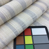 "Neutral Subtle Plaid Slub Weave   Beige / Grey   Heavyweight Upholstery / Slipcover Fabric   54"" Wide   By the Yard"