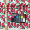 "Watermelon in Fuchsia | Pink / Green / White | Home Decor Fabric | PKL Studio | 54"" Wide | By the Yard"