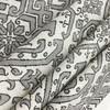 "Zaire in Gunmetal   Aztec Design in Grey / Beige   Upholstery / Drapery Fabric   Richloom   54"" Wide   By the Yard"