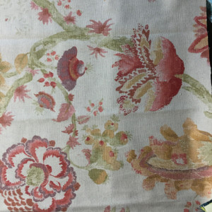 Pink Color Fabric Printed Fabric Fabric By The Yard Cotton Cambric Fabric Damask Print Fabric SMIN-DK-558A Indian Home Decor Fabric