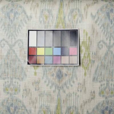 Pastel Fabric By Robert Allen KHANJALI GLACIER Drapery & Upholstery Weight