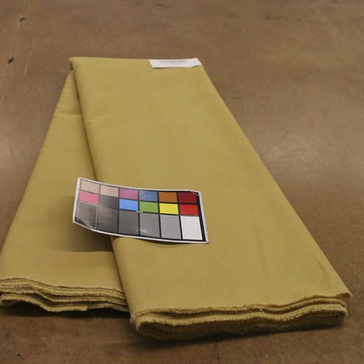 """14 Yard Piece of Shimmering Metallic Gold 54"""" Curtain Fabric By The Yard"""