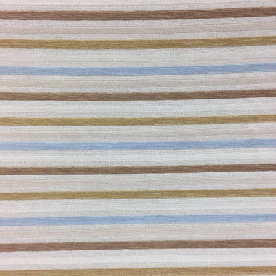Natural Off White Chenille Stripe Upholstery   Soft  Durable Upholstery Fabric