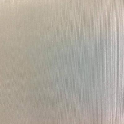 Light Silvery Blue Strie Upholstery Vinyl Fabric   Smooth & Lightly Metallic