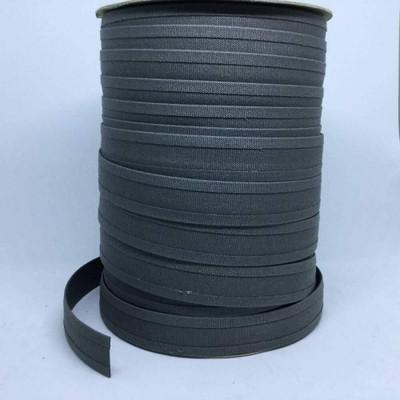 "Charcoal Gray   1 Inch Double Edge Folded Sunbrella Binding    1"" x BTY"