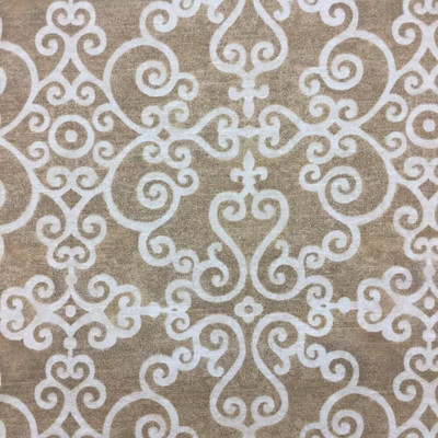 Waverly Tendril in sahara (3) Fabric   Upholstery Weight   BTY   54