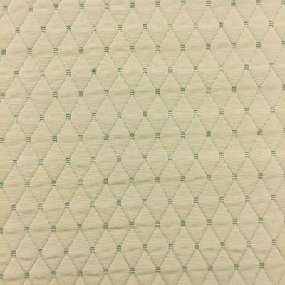"""Yellow with Pre-Quilted Diamonds Upholstery Fabric 