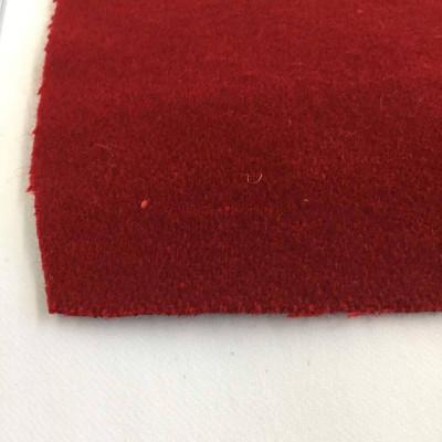 Rich Red Melton Wool Fabric | 80/20 | Light Felting | 20oz | Super Soft