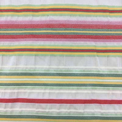 """Vintage Horizontal Striped Upholstery Fabric   54"""" wide   By the Yard   Durable"""