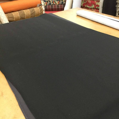 """Black Foam-Backed Fabric Automotive Headliner 