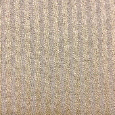 """Chocolate Brown Two Toned Stripes Upholstery Fabric   54""""W   BTY   Durable"""
