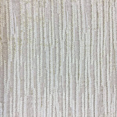 """Chenille in Beige with Subtle Rustic Stripes Upholstery Fabric   54""""W   BTY  """