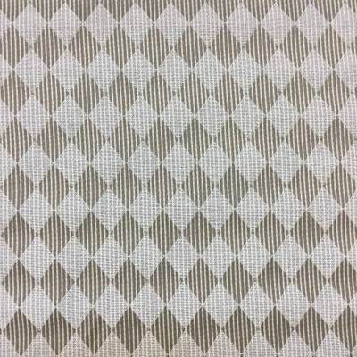 """Harlequin Diamonds in Tan and Brown Upholstery Fabric 
